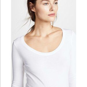 Isabel Maternity by Ingrid & Isabel Tops - Long Sleeve Scoop Neck Maternity T-Shirt